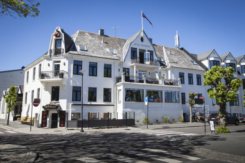 Cemcrete provides protective finish for Wassiliof Hotel in Norway