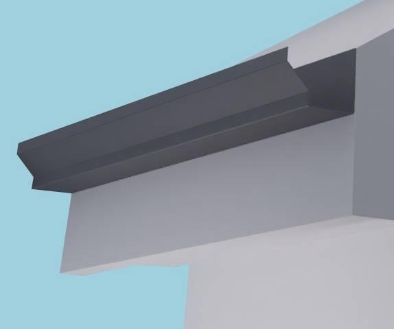 Dales Strongline Aluminium Gutter
