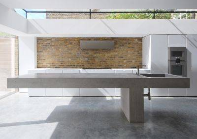In-situ Concrete Worksurfaces and Furniture