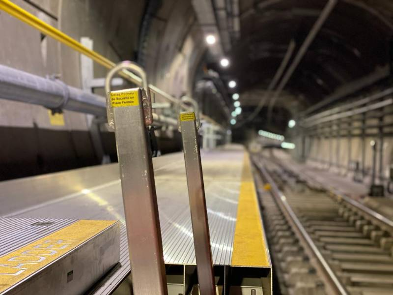 Crossrail contractor chooses Bilco Ladder Up Safety Post