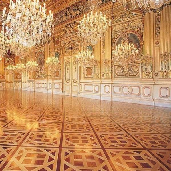 Versailles Oak Parquet Panels
