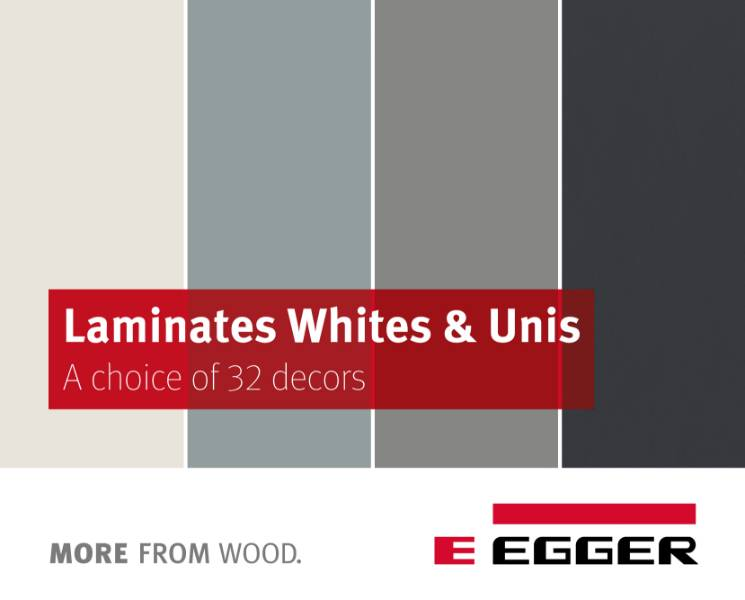 EGGER Laminate Whites & Uni Colours