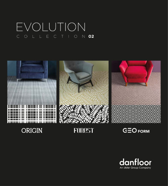 Evolution Carpet Collection: Forest, Origin and Geo Form