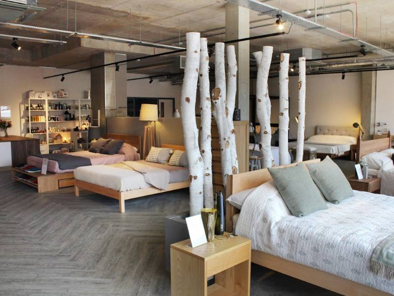 Affinity255 creates dream floor for Natural Bed Company showroom