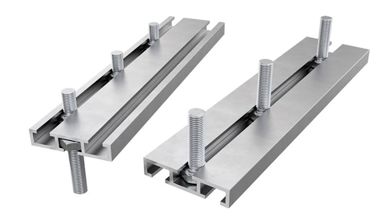 AliDeck Triple Bolt Channel