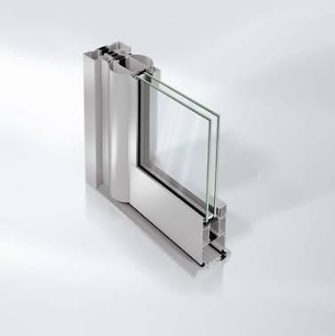 Commercial Aluminium Entrance Door - GFT50