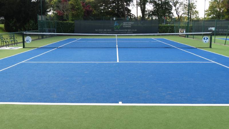Artificial Grass Case Study - Wolverhampton Tennis Club
