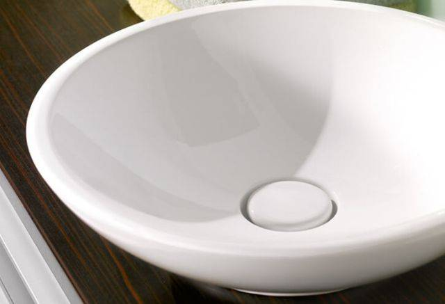 LOOP AND FRIENDS Surface Mounted Washbasin