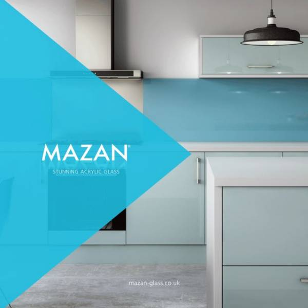Mazan Traditional Glass Hob Panel