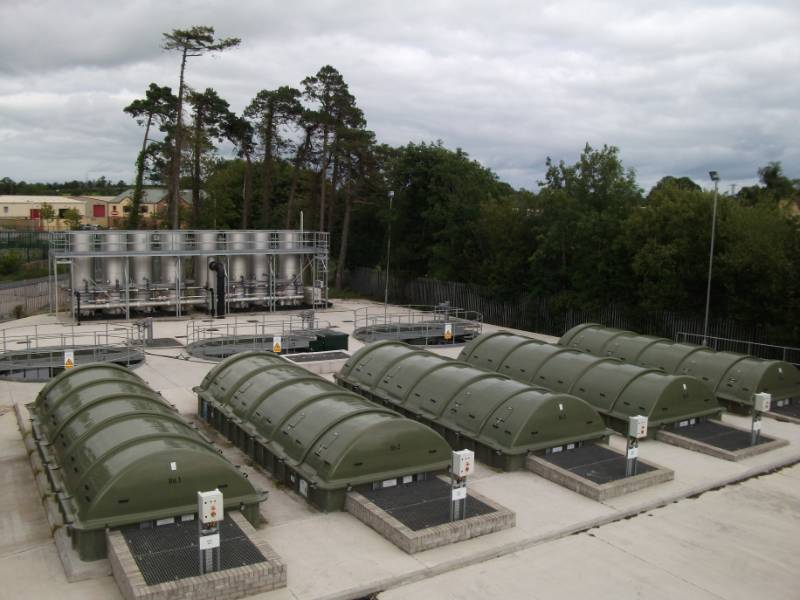 Sewage Treatment Plant - KEE uses 'Fixed Film' technology to meet Northern Ireland Waters' Discharge Consent Standards