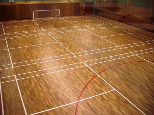 SylvaTech plus battened sports floor system