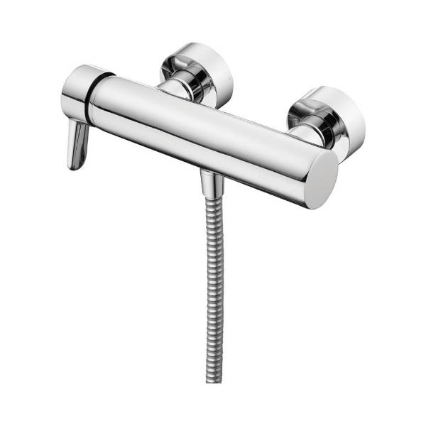 Concept Blue Single Lever Manual Exposed Shower Mixer