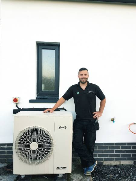 A combination of Grant renewable technologies keep new build home warm in Cardigan