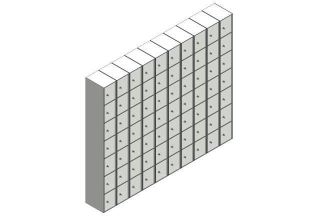 Solid Grade Laminate (SGL) Lockers