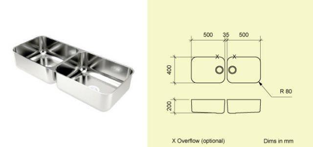 Sink Bowl LD50