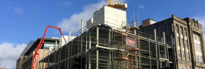 Lytag helps make light work of new Edinburgh Exchange District landmark