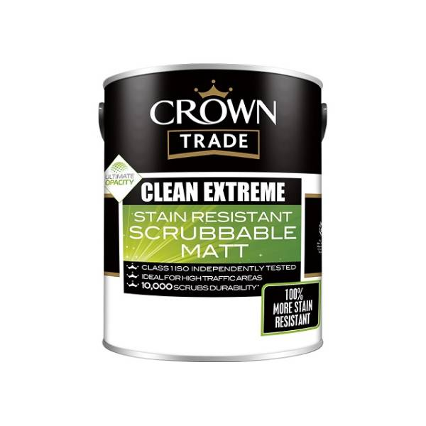 Crown Trade Clean Extreme Scrubbable Matt
