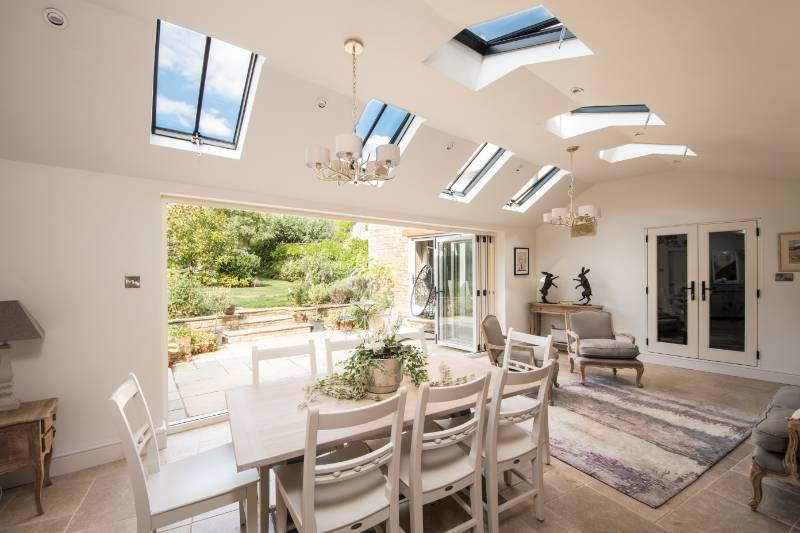 Listed property lit up with new Clement Conservation Rooflights