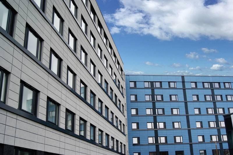 Profile 22 Optima Chamfered Windows help transform 1960s building into stylish modern housing