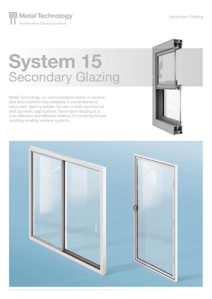 Aluminium Secondary Glazing Window