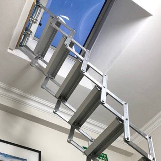Compact loft ladder for fire escape – Case Study from Premier Loft Ladders