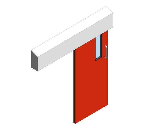 Hygienic Sliding GRP Doors