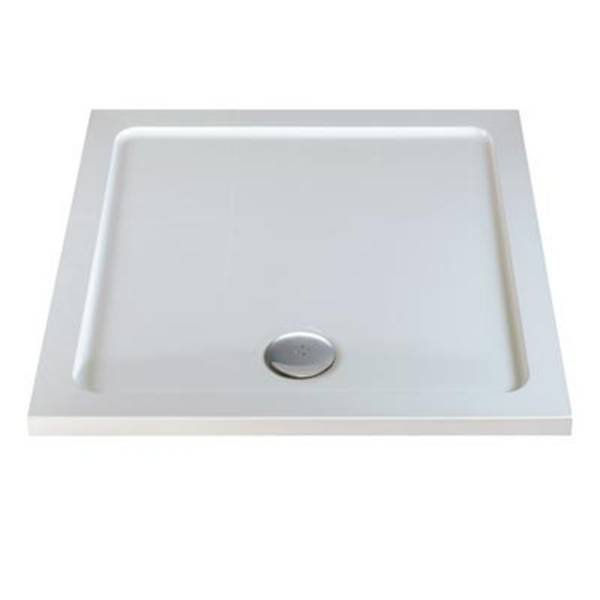 Tray 760 X 760 Square Flat Top - Shower tray