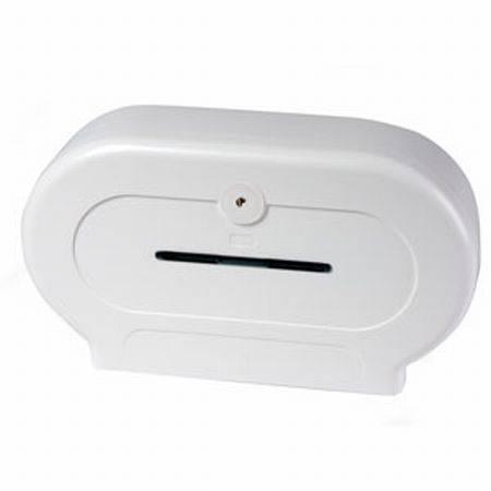 BC594W Dolphin Double Mini Jumbo Toilet Tissue Dispenser