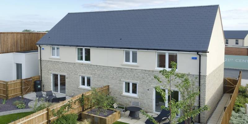 Cedral Slates - Bicester EcoTown