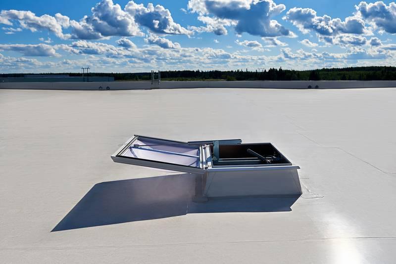 Smoke Lift Rooflight F100