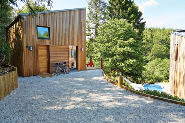 Cedar cladding, the ideal choice for luxury eco-home in Dorset