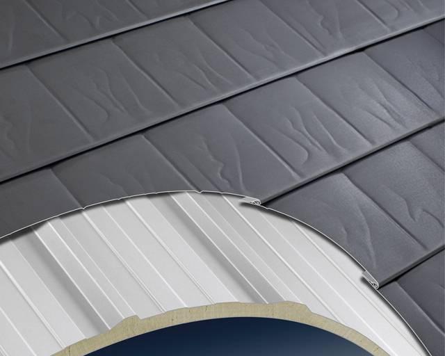 META-SLATE Plus Roofing System