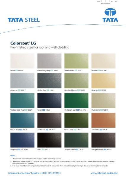 Colorcoat® LG