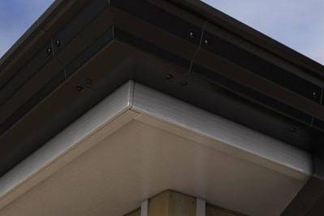 GX 127 mm Moulded gutter