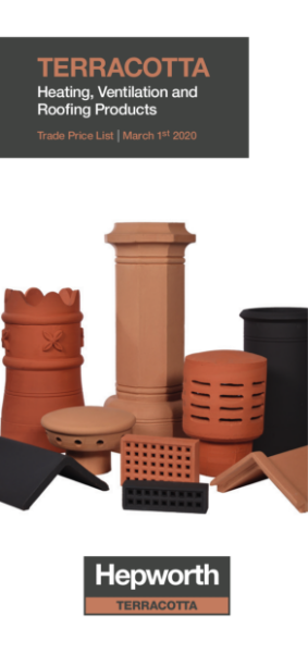 Hepworth Terracotta Trade Price List 1st March 2020