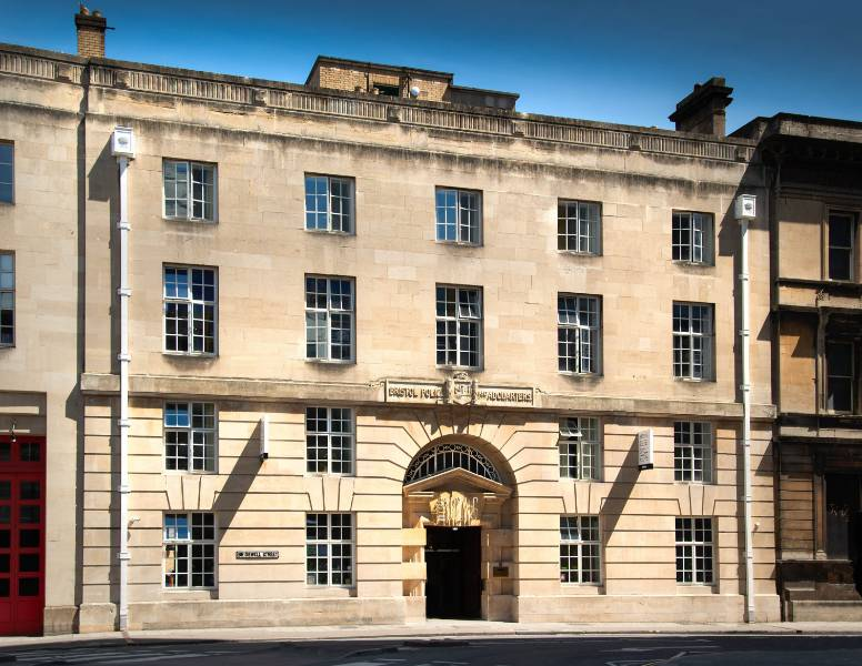 Grade II listed former Police HQ now home to the YMCA