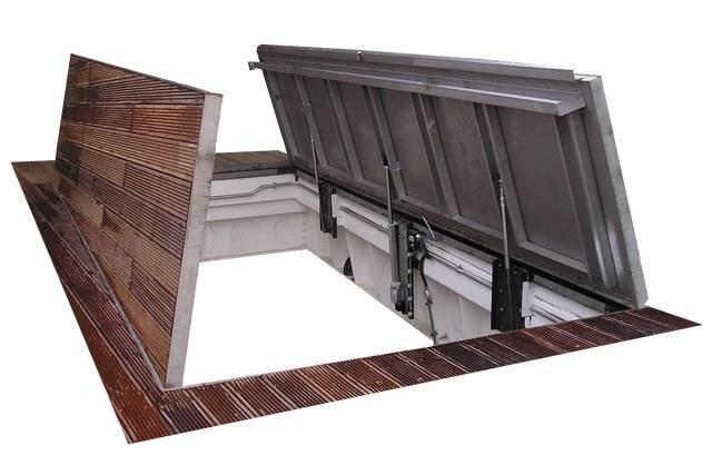 HIAC Recessed Floor Hatch