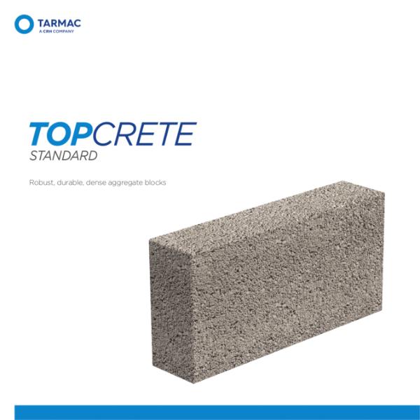 Topcrete Standard - Aggregate Blocks Product Guide
