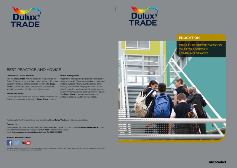 Dulux Trade Education Brochure