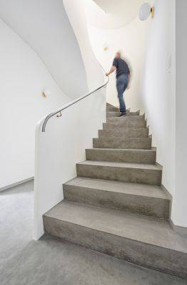 Internal stair systems