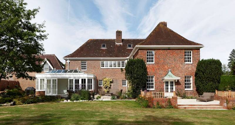 Country house in New Forest, Hampshire, Great Britain