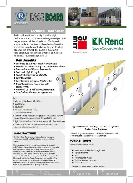 Base Board Technical Data Sheet