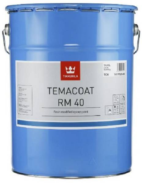 Temacoat RM40 - A two-component, resin modified epoxy paint