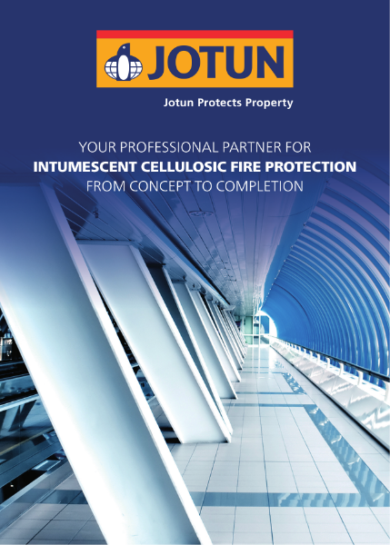 Intumescent cellulosic fire protection