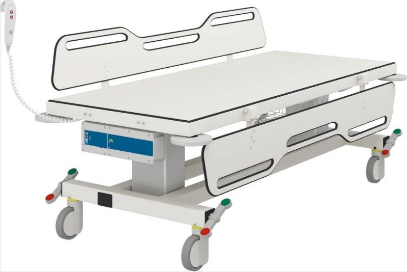 Mobile Change Trolley 2 R9452717 - Electrically Height Adjustable 1790 mm long