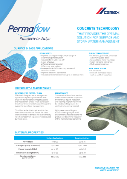 Permaflow - Permeable by Design