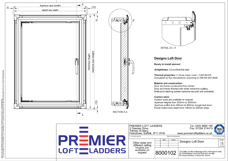 Designo Loft Eaves Door