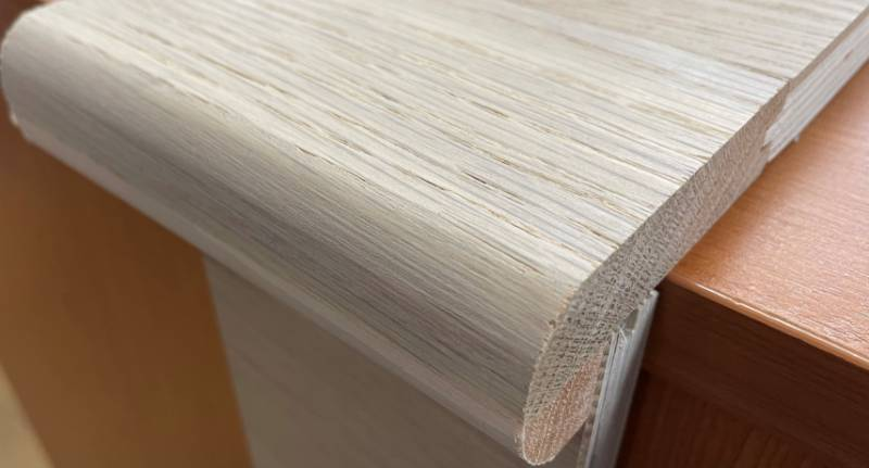 Unfinished European Oak Stair Nosing