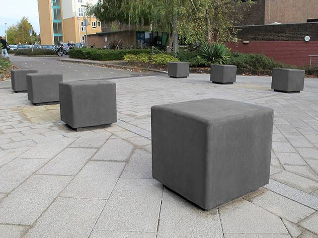 Blyth Concrete Bench
