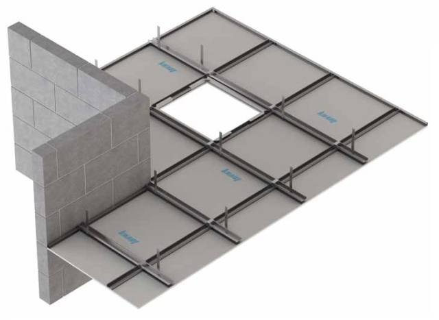 Fire Protection to Timber Floor Construction: Knauf C-Form Soffit Lining CF5/13